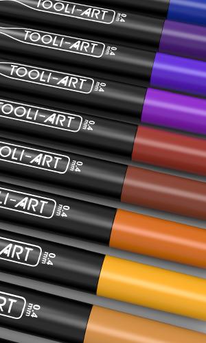 tooli-art brush markers