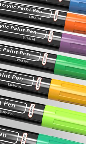 essential acrylic paint pens