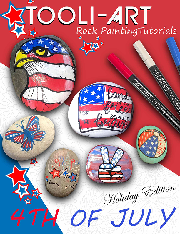 ebook cover fourth of july rock tutorials