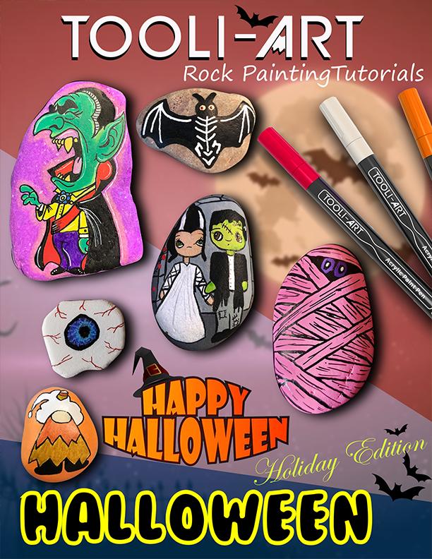 ebook cover halloween rock tutorials