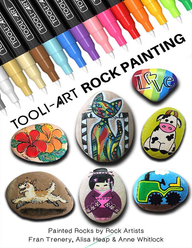 ebook cover rock painting tutorials